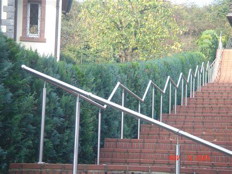 treppengeländer aussentreppe metallbau geiss