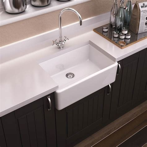 kitchen sink ceramic premier westminster butler ceramic kitchen sink btl006
