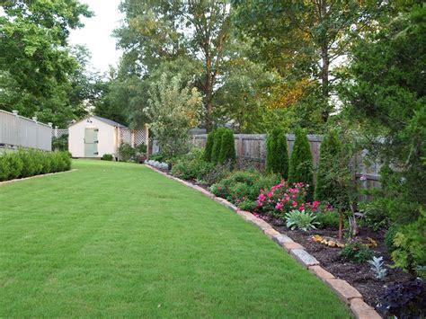 backyard landscaping ideas along fence landscape design ideas along a fence garden post