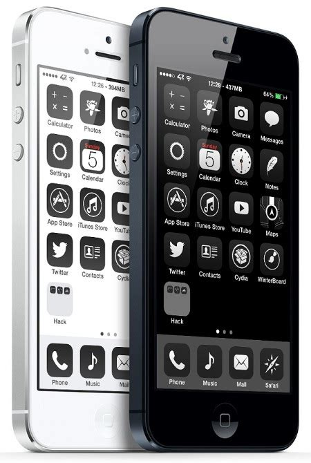 good themes for iphone from cydia top 5 best winterboard themes for ios 7 in 2014 free and