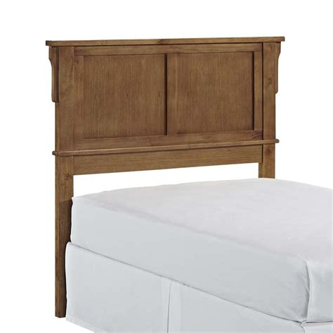 twin oak headboard twin panel headboard in cottage oak 5180 401