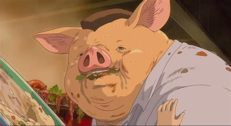 Pig In Bathtub Spirited Away Respect For Intangibles Food And Foodies