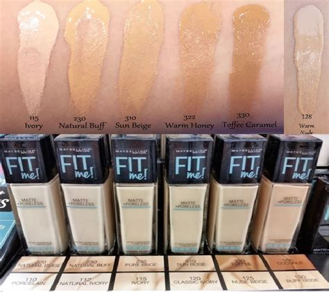 Foundation Dan Concealer Maybelline maybelline fit me matte poreless foundation cosmetic planet