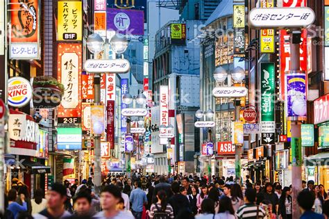 imagenes de shibuya japon shibuya shopping district tokyo japan stock photo
