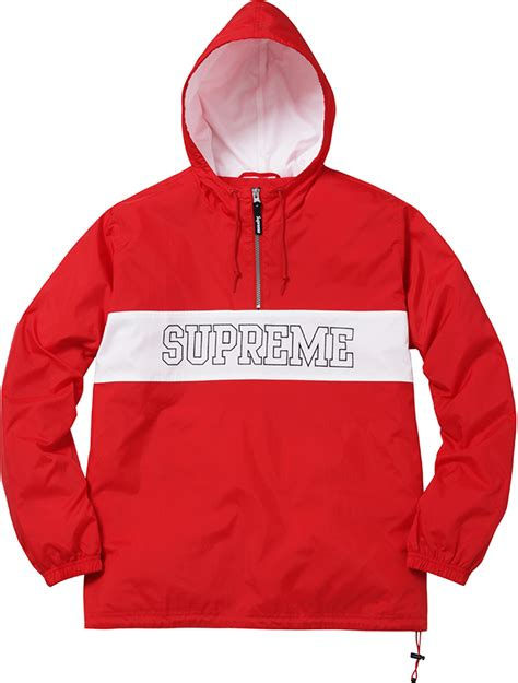 supreme clothing line supreme ripstop pullover summer 2016 essentials