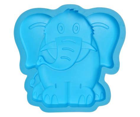 moule 224 gateau silicone elephant forme animaux de la jungle 3 5 parts