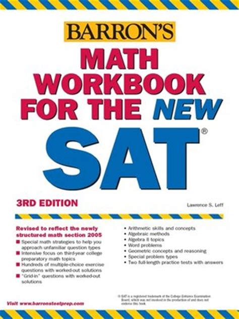 Barrons Sat Writing Workbook Review by Barron S Math Workbook For The Sat Gwinnett County Library