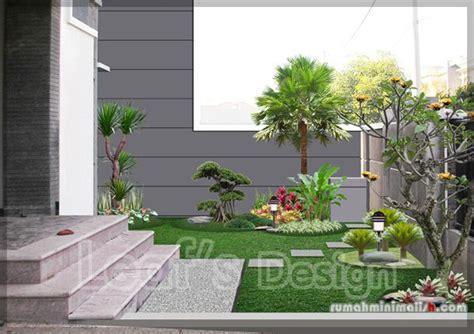 desain taman dalam rumah minimalis taman minimalis depan rumah jardim da entrada