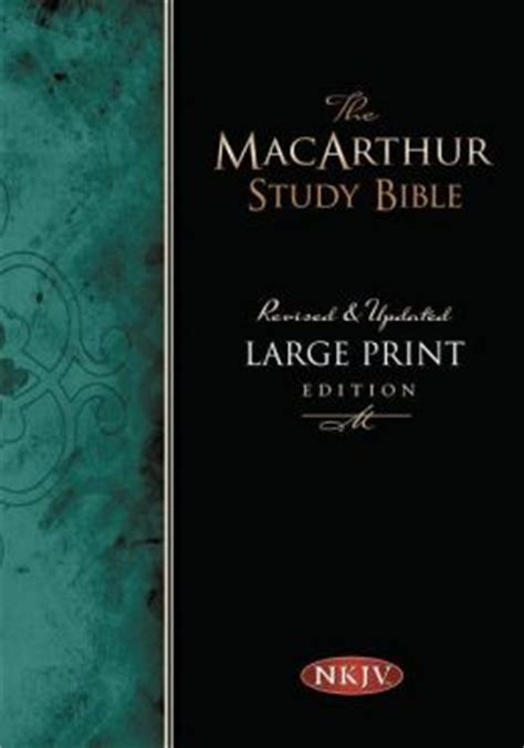 printable new king james version bible macarthur study bible large print edition new king james
