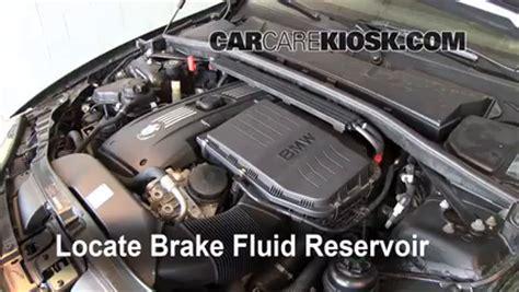 2008 2014 bmw 135i brake fluid level check 2009 bmw 135i
