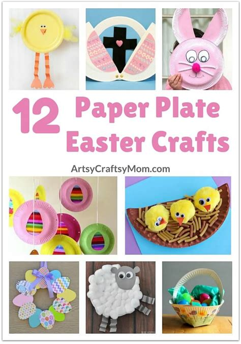 Paper Plate Easter Crafts - 12 adorable paper plate easter crafts