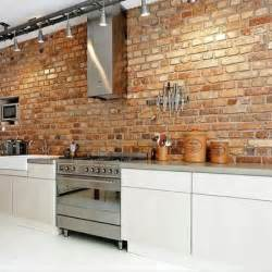 brick in kitchen exposed brick wall for the home pinterest