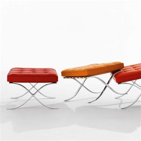 Mies Der Rohe Stool by Barcelona Mies Der Rohe Stool Knoll International