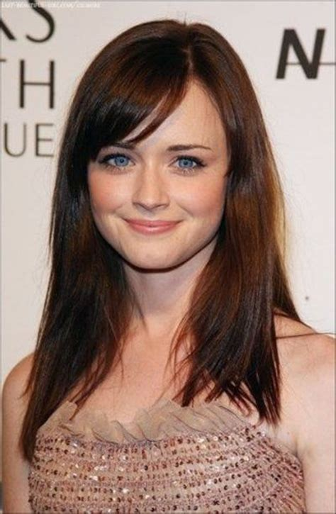 Rory Gilmore Hairstyles by Side Bangs I Miss Rory Gilmore By The Way