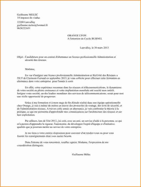 Lettre De Motivation Ecole De Transport 6 Lettre De Motivation Contrat Alternance Exemple Lettres