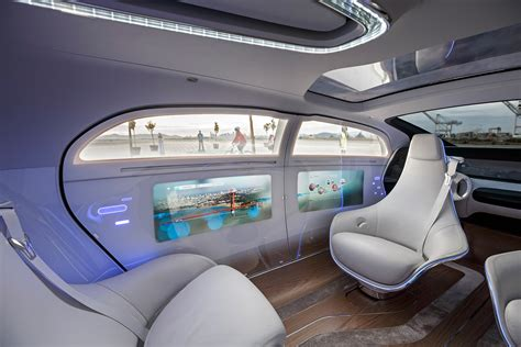 future cars inside first drive mercedes benz f015 concept