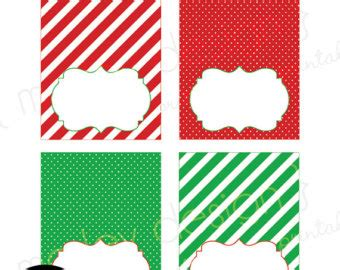 printable name tags for christmas table christmas tented labels printable buffet cards dessert
