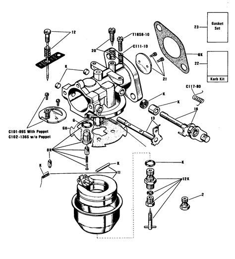 onan generator carburetor diagram onan parts diagrams wiring diagram with description
