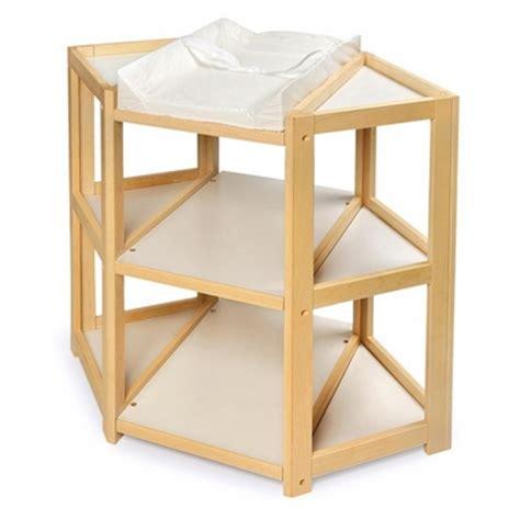 Badger Basket Diaper Corner Changing Table Natural Badger Basket Corner Changing Table Espresso
