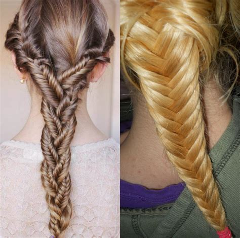 Fishbone Braids Hairstyles Pictures by Two Fishbone Hairstyles Hairstyles By Unixcode