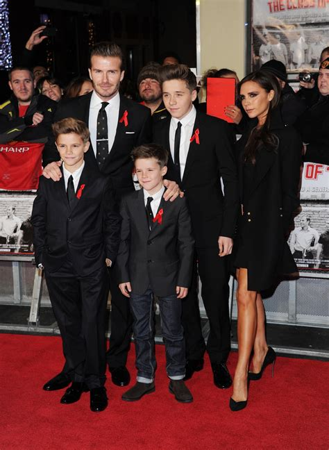 The Beckhams Are by What Are David And Beckham Worth Brand Beckham S
