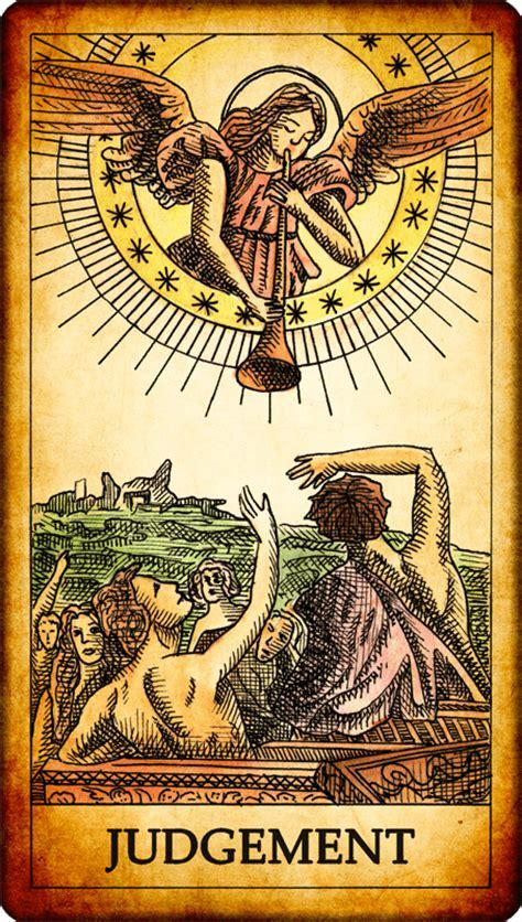 The Judgment tarot card judgement