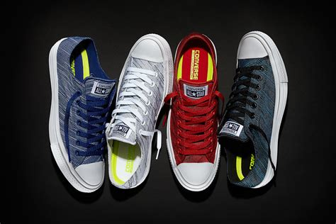 Converse Original Ct Ii Salsa Lunarlon Converse Introduces Knit Takes On The Chuck All