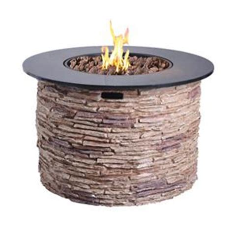 Fire Pit Outdoor Fire Table With Cover Bond Cliffstone Bond Firepits