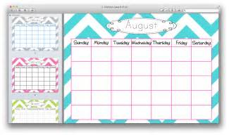 cute calender templates calendar template 2016
