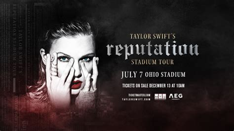 taylor swift tour cincinnati taylor swift to bring her reputation to ohio stadium this