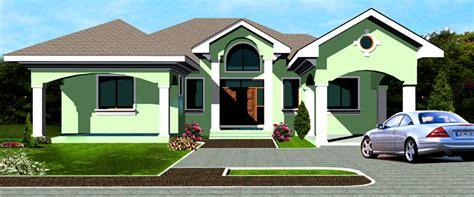 Basement Kitchen Designs by Ghana House Plans Ohene House Plan