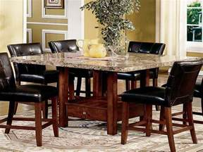 granite top kitchen tables modern dining room sets granite top dining table storage