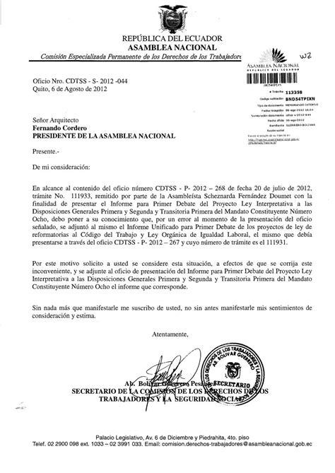 ley de seguridad social ecuador actualizada 2012 informe de comisi 243 n de los derechos de los trabajadores y