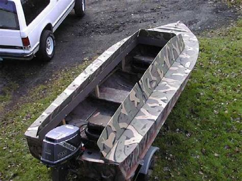 duck boat concealment the duck hunter s boat page