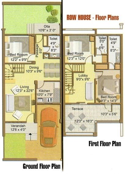 row home plans row house architecture plans house home plans ideas