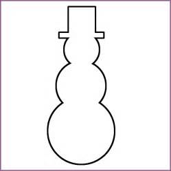 snowman templates snowman templates 28 images snowman outline clipart