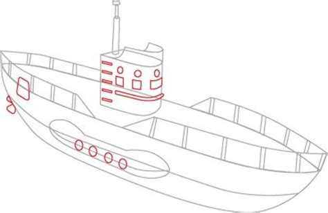 navy boat easy drawing how to draw submarines how to draw submarines