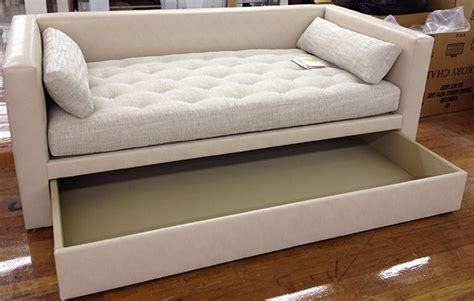 sofa trundle beds porter trundle divan sofa bed pinterest