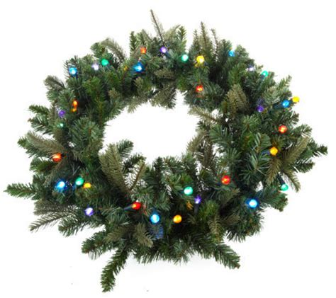 battery operated wreath with timer bethlehemlights batteryoperated 26 inch pre lit wreath