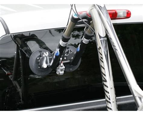 bike holder for truck bed seasucker falcon fork mount 1 bike truck bed bike rack