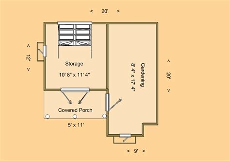 Shed Homes Floor Plans by Cozy Shed Floor Plan Cozy Home Plans