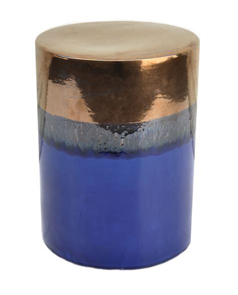 ombre ceramic stool mecox gardens