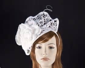 lace fascinator white lace fascinator for melbourne cup derby races buy in aus hats from oz