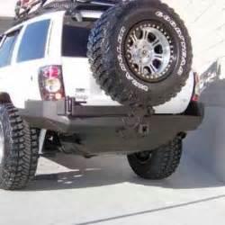 Jeep Wj Accessories Rock Solid Rear Bumper W Skid Plate Tire Rack Wj