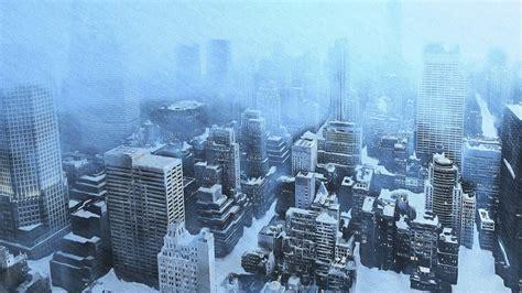 Winter snow new york city wallpaper   (6729)