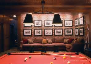 billiards space interior design suggestions and ideas