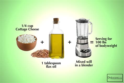 substitution for cottage cheese how to use the budwig cancer protocol