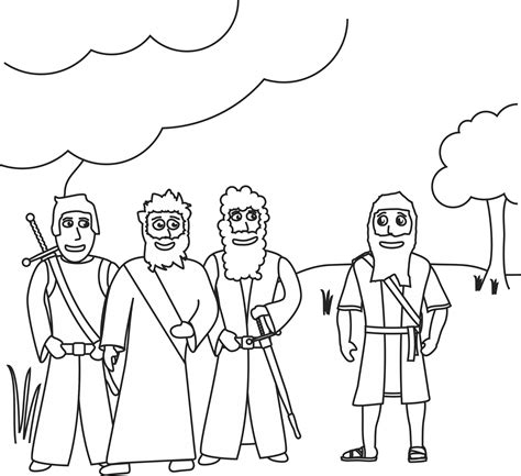 coloring page abraham and lot abraham and lot coloring pages