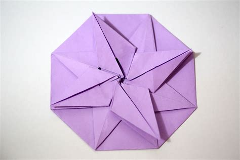 Origami Eight Pointed - four pointed origami comot