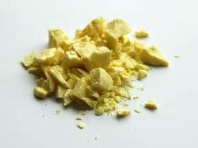 color of sulfur sulfur
